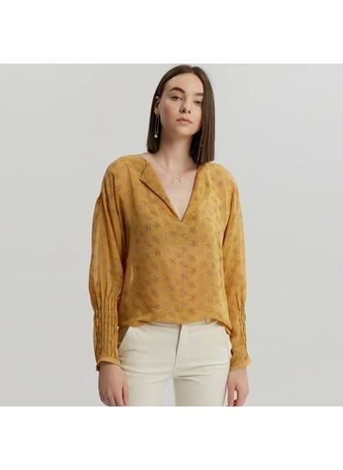 Yargıcı Bluz Sarı
